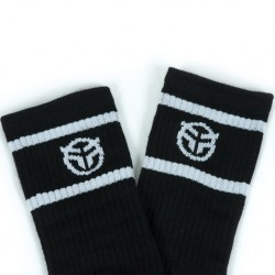 CHAUSSETTES FEDERAL LOGO SOCKS BLACK - image 2