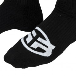 CHAUSSETTES FEDERAL LOGO SOCKS BLACK - image 3