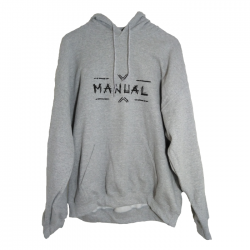 SWEAT CAPUCHE MANUAL GREY - image 1