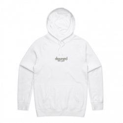 SWEAT CAPUCHE DOOMED NEW PORT HOODIE WHITE - image 1