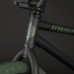 "BMX FLYBIKES PROTON FREECOASTER 21"" RHD FLAT BLACK - image 6"