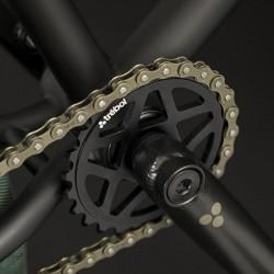 "BMX FLYBIKES PROTON FREECOASTER 21"" RHD FLAT BLACK - image 7"