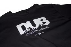 TEE SHIRT DUB BMX PEAK BLACK - image 2